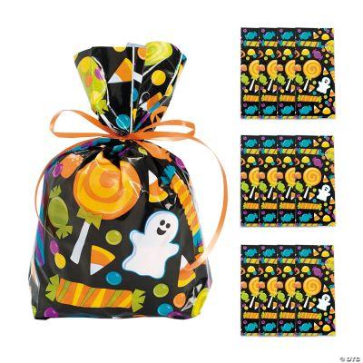 Cellophane Halloween Treat Bags