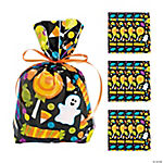 Cellophane Halloween Treat Bags