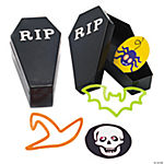 Toy-Filled Coffin Containers