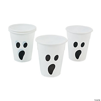 Ghost Disposable Cups