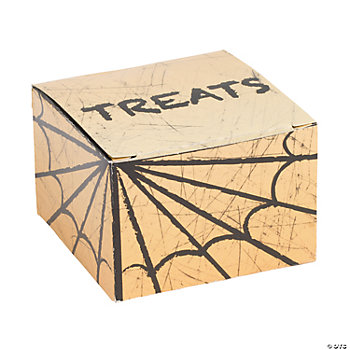 "Mini Halloween ""Treat"" Boxes"