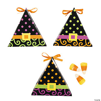 Witch Hat Treat Boxes