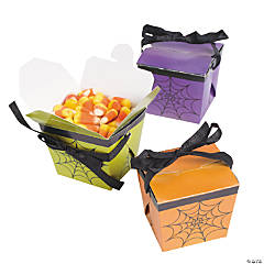 Halloween Takeout Boxes