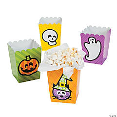 Mini Halloween Popcorn Boxes