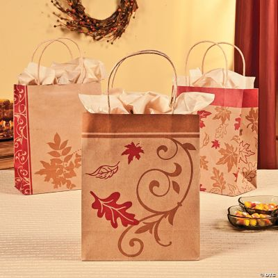 Fall Kraft Paper Bags