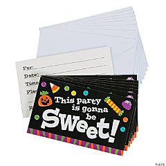 Trick Or Treat Invitations