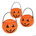 Plastic Pumpkin Candy Cups