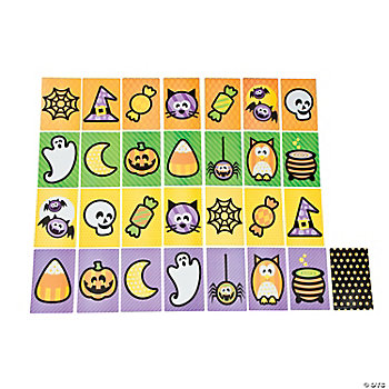 Jumbo Halloween Matching Game