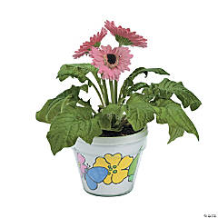 Color Your Own Artist Flowerpots