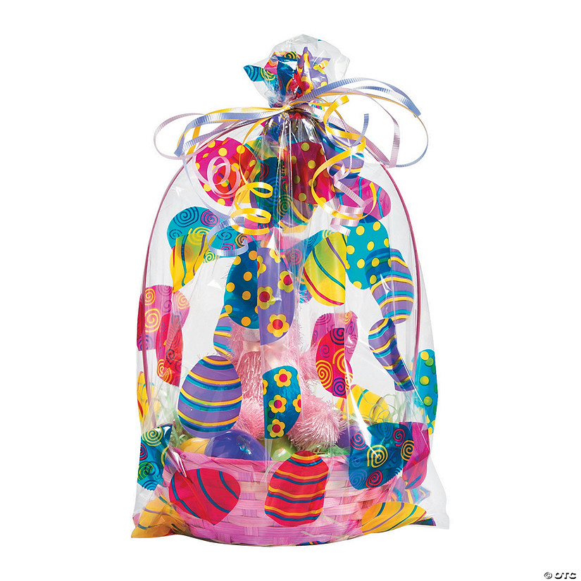 Easter basket cellophane bags negle Images