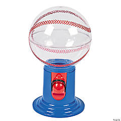Baseball Gumball Machines