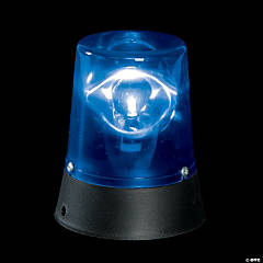 Plastic Blue Flashing Mini Beacon Light