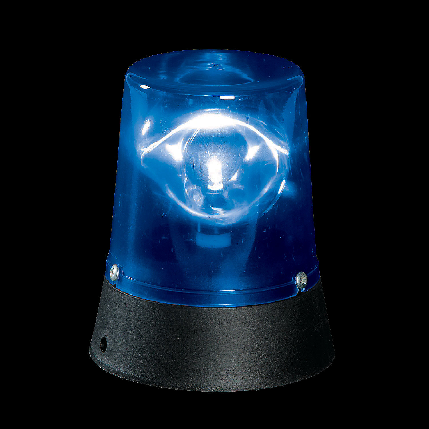 Flashing Mini Blue Beacon Light Oriental Trading
