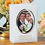 Personalized Wedding Album with Picture Frame