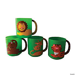 Zoo Animal Mugs