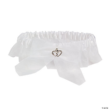 Two Hearts Wedding Garter