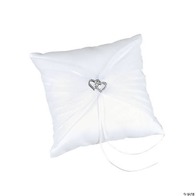 Two Hearts Wedding Ring Pillow