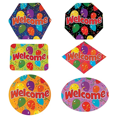 Welcome Cutouts