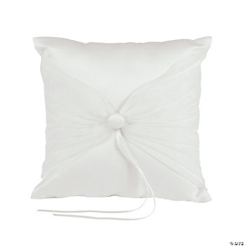 Ivory Tulle Wedding Ring Pillow
