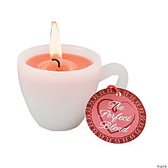 Coffee Cup Mini Candle