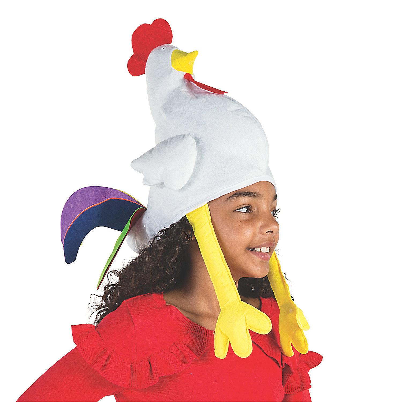 Chicken hat oriental trading