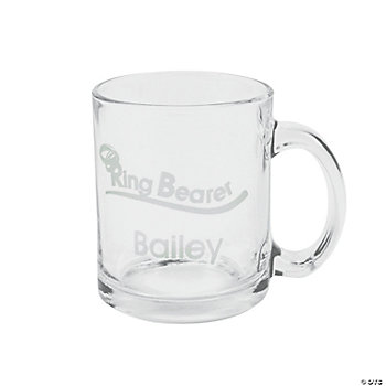 "Personalized ""Ring Bearer"" Mug"