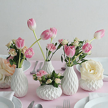 3 Ways To Use Classic White Vases