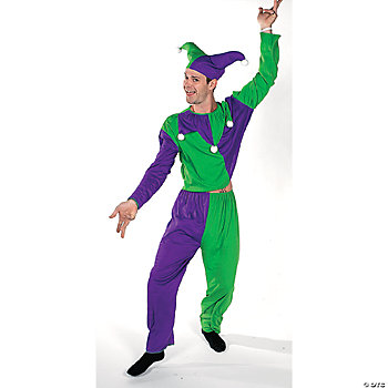 Male Jester Adult Men's Costume