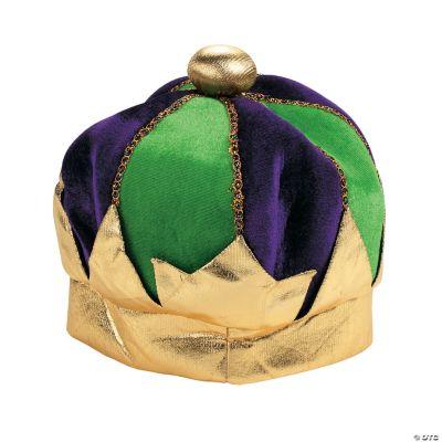 Plush Mardi Gras Crown