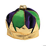 Mardi Gras Plush Crown