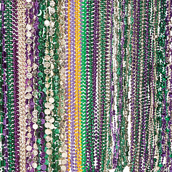 Mardi Gras Beaded Necklace Assortment