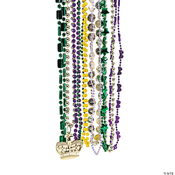 Mardi Gras Bead Assortment