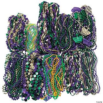 Mardi Gras Decorations on Mardi Gras Beads   Oriental Trading