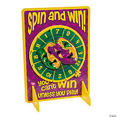 Mardi Gras Spinner Game