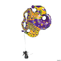 Jester Hat Mylar Balloon