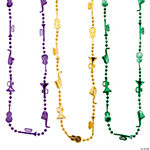 Jazz Mardi Gras Beads