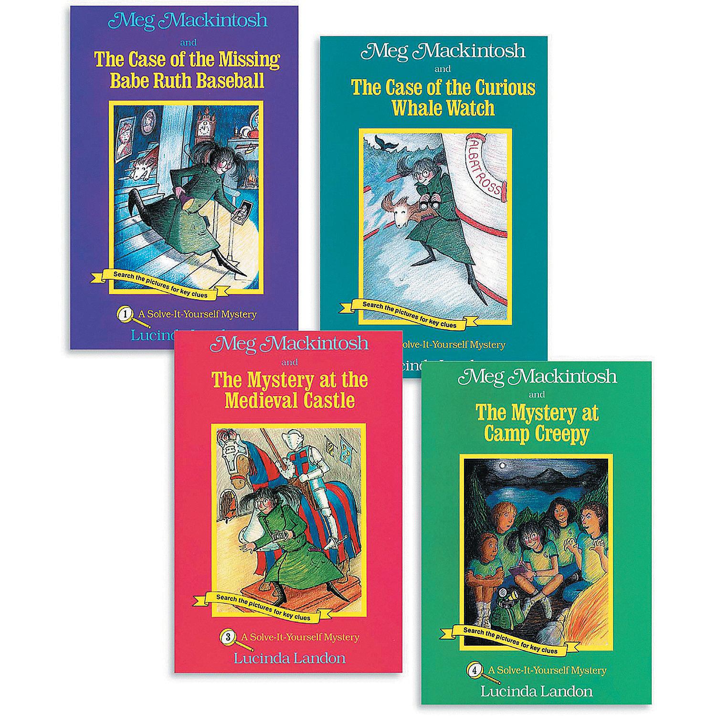 Meg Mackintosh Mysteries: Books 1-4, Brainteasers
