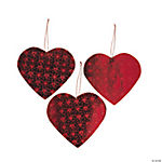 Red Heart Cutouts