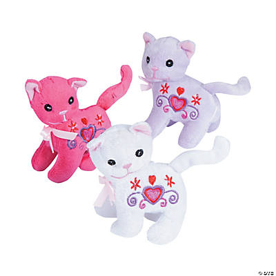 Plush Valentine Cats