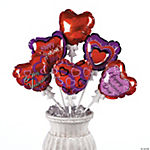 Self-Inflating Valentine Heart Balloon Assortment
