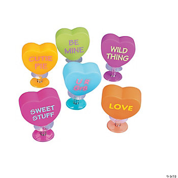 Conversation Heart Pop-Ups