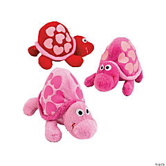 Plush Turtles With Hearts