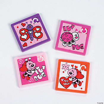 Luv Bug Slide Puzzles