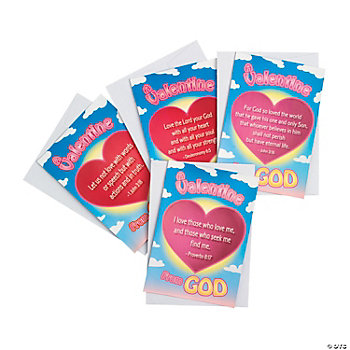 """Valentine From God"" Sticker Cards"