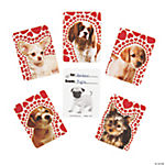 Valentine Love Puppy Photo Cards