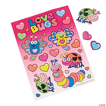 Love Bug Sticker Sheets