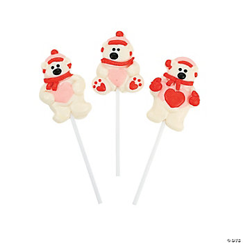 Valentine Polar Bear Suckers