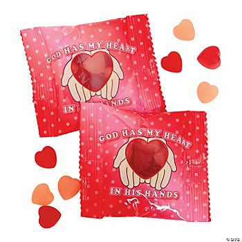 Inspirational Valentine Gummy Packs