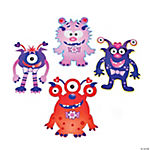 Valentine Monster Cutouts