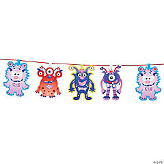 Valentine Monster Garland